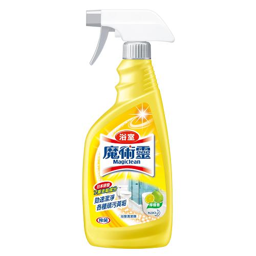 魔術靈浴室清潔劑噴槍瓶-檸檬香500ml愛買