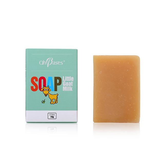 美國OH BASES歐比信 山羊奶潔膚皂 70g