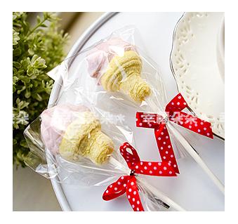 幸福朵朵義大利超好吃~冰淇淋造型大棉花糖二次進場送客喜糖生日畢業來店禮婚禮小物