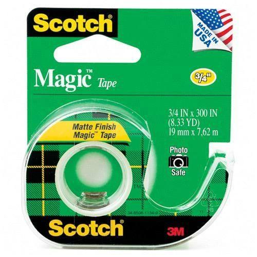 西瓜籽文具3M Scotch 104 105系列隱形膠帶105