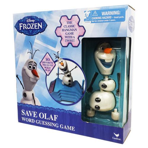 【美國Disney迪士尼】冰雪奇緣雪寶遊戲組 CD28801