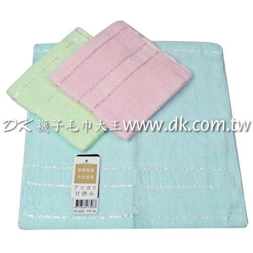 卡洛兔 2028 條紋方巾 (6條) ~DK襪子毛巾大王