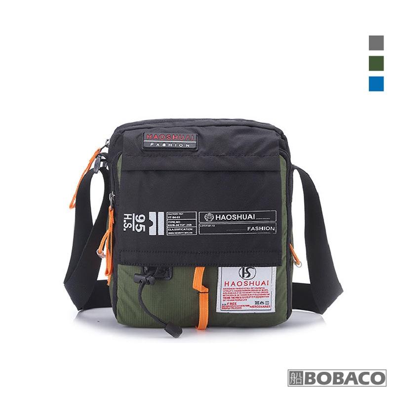 【休閒單肩斜跨包 L206】HAOSHUAI 休閒包 外出包 隨身包 斜背包