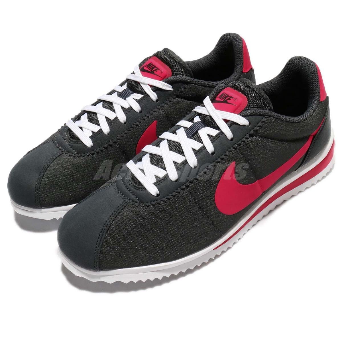 Nike阿甘鞋Cortez Ultra SD黑桃紅輕量版本復古慢跑鞋男鞋PUMP306 903893-001