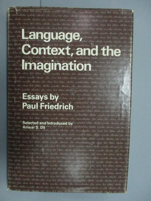 【書寶二手書T4/大學文學_ZDI】Language, Context, amd the Imagination