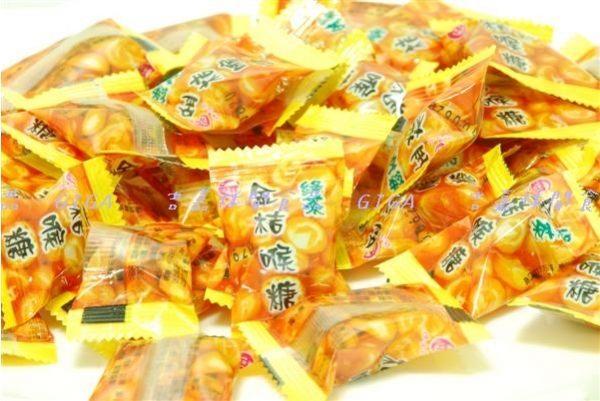 吉嘉食品德合記綠茶金桔喉糖200公克100元200 2CR01-1