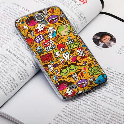 機殼喵喵三星Samsung i9500 Galaxy S4手機殼客製化照片外殼全彩工藝SZ120