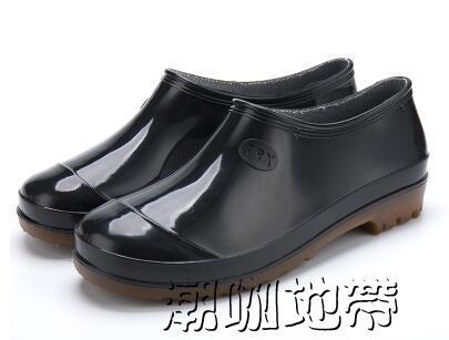 雨靴夏季防滑雨鞋男高筒雨鞋男士雨靴防滑「潮咖地帶」