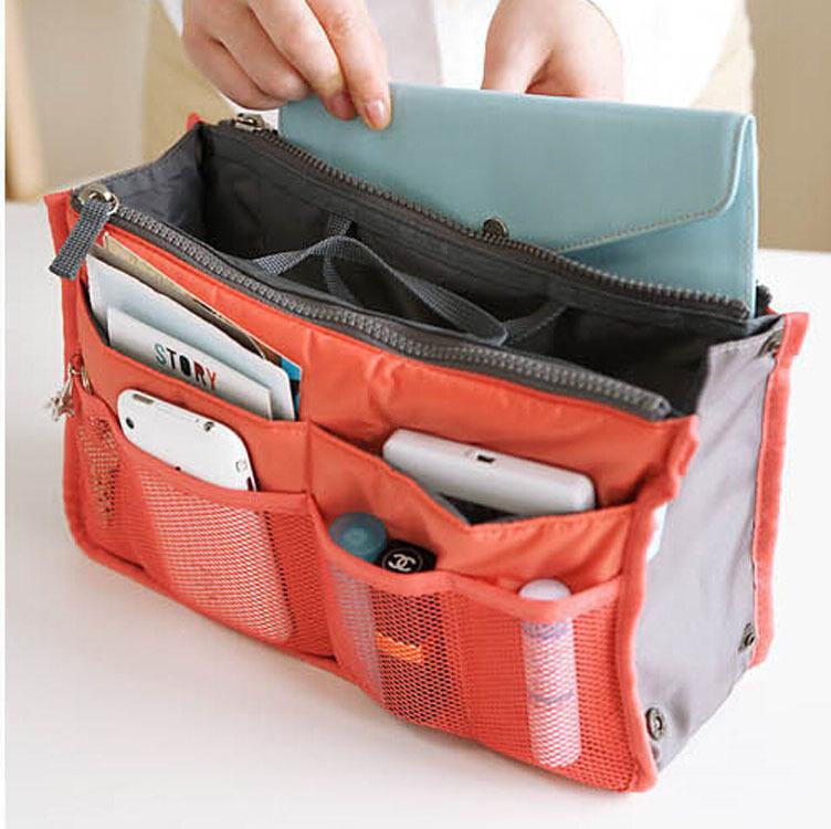 收納包。媽媽包/旅行包/化妝包/多功能收納袋 *繪米熊童裝*(AZ60313)