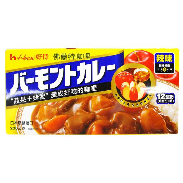日本好侍HOUSE佛蒙特咖哩辣味230g