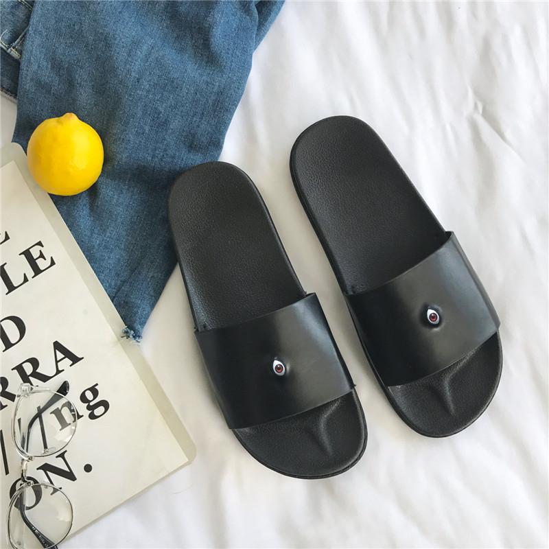 韓版新款夏季時尚男士壹字拖休閒百搭防滑浴室拖鞋輕便舒適涼拖鞋