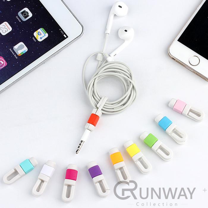 有掛勾iPhone5C/iPhone6/iPhone7傳輸線保護套 I線套 線保護套 電源線套 延長使用壽命