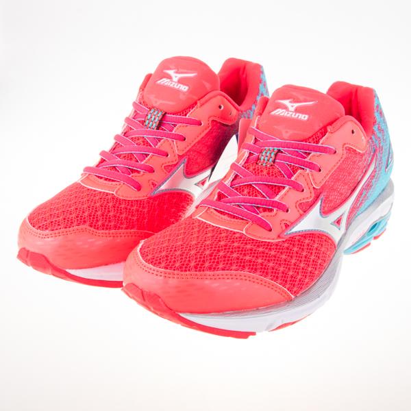 6折出清~Mizuno  慢跑鞋的代名詞 WAVE RIDER 19(W) 寬楦 女慢跑鞋 J1GD160608