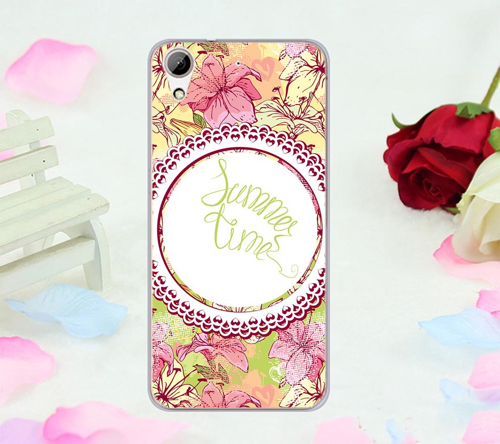 俏魔女美人館粉花蕾絲軟殼htc 728手機殼手機套保護套保護殼