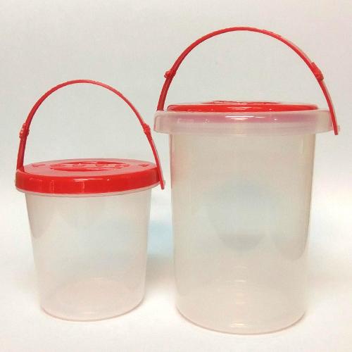 【台灣製USL遊思樂】收納盒 / 水桶  / 教具玩具收納的好幫手(小)