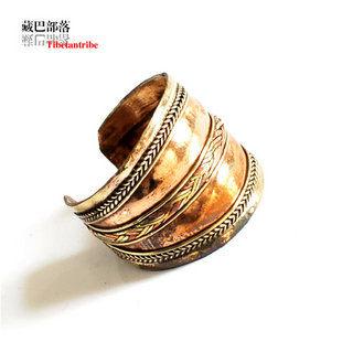 男 女款戒指 手工三色銅中寬