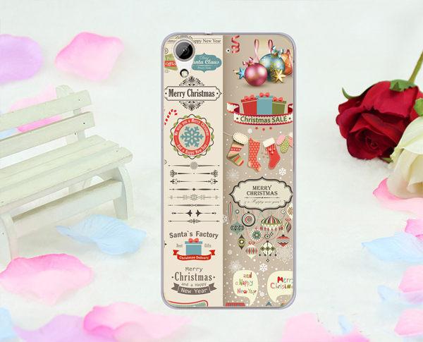 聖誕卡片軟殼htc 728手機殼手機套保護套保護殼