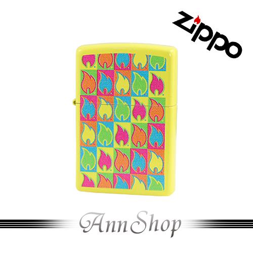 【Zippo‧五彩火焰打火機】全球知名防風打火機‧情人禮物