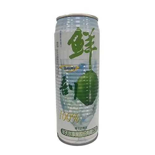 半天水鮮剖100有料椰子汁520ml*3入愛買