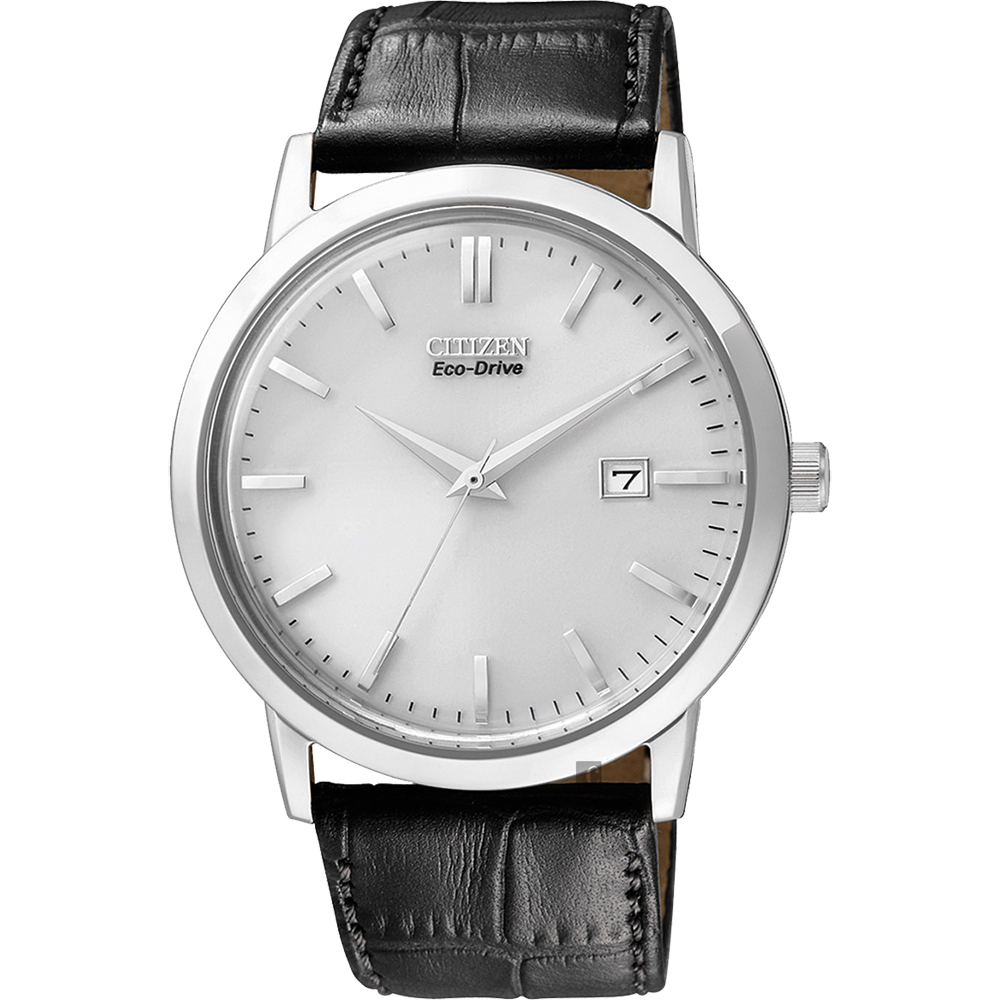 CITIZEN星辰Eco-Drive光動能復刻手錶-銀x黑40mm BM7190-05A