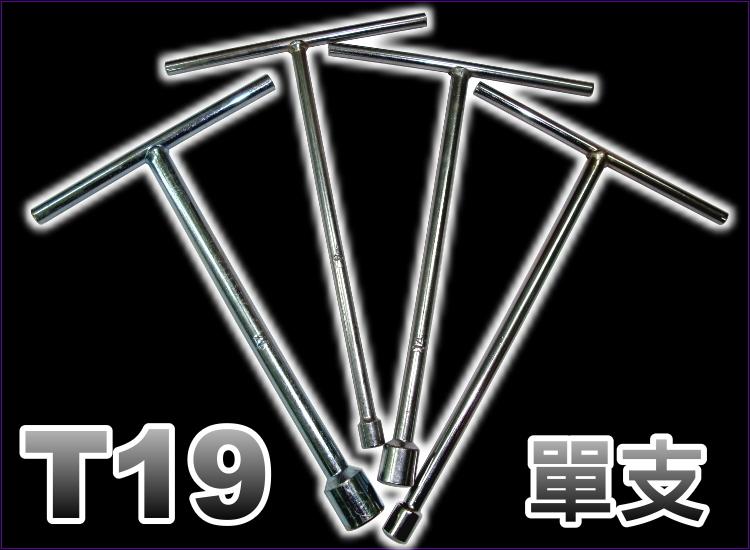【洪氏雜貨】 A10136007 T19號工具 單入(現貨 預購) 專業T型萬向套筒板手.T型板手.T型套筒板手