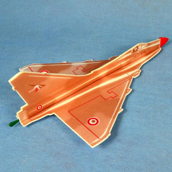 佳廷家庭 DIY紙模型立體勞作3D立體拼圖專賣店 航空模型飛機 彈射迴旋飛機9 法國幻象2000 FLYWITCH
