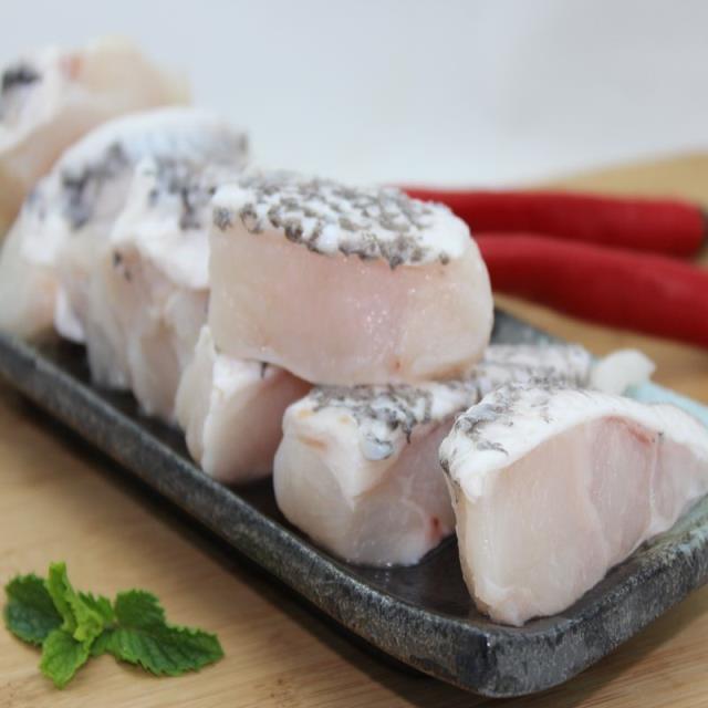 【綠安生活】龍膽石斑腹肉塊1包(200g/包 )