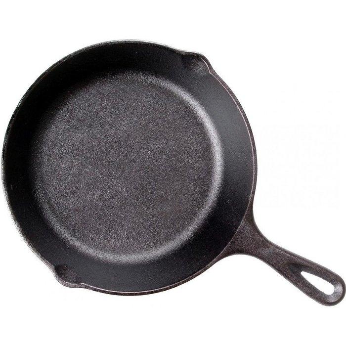 美國Lodge鑄鐵平底煎鍋8吋