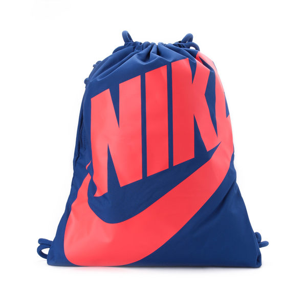 NIKE HERITAGE GYMSACK 束口袋 藍紅 BA5351-438 鞋全家福