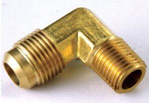 銅接頭 銅管接頭 1/4 PT外牙*5/16 銅管
