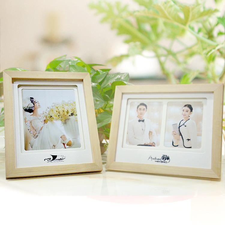 婚紗照相框擺台韓版木質
