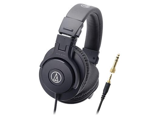 鐵三角ATH-M30X專業用監聽耳罩式耳機台灣公司貨保固一年My Ear台中耳機專賣店