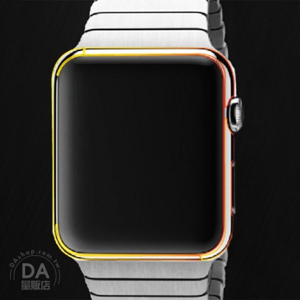《DA量販店》Apple watch serise 2 亮面 透明 前加後 保護貼 保護膜 42mm/38mm