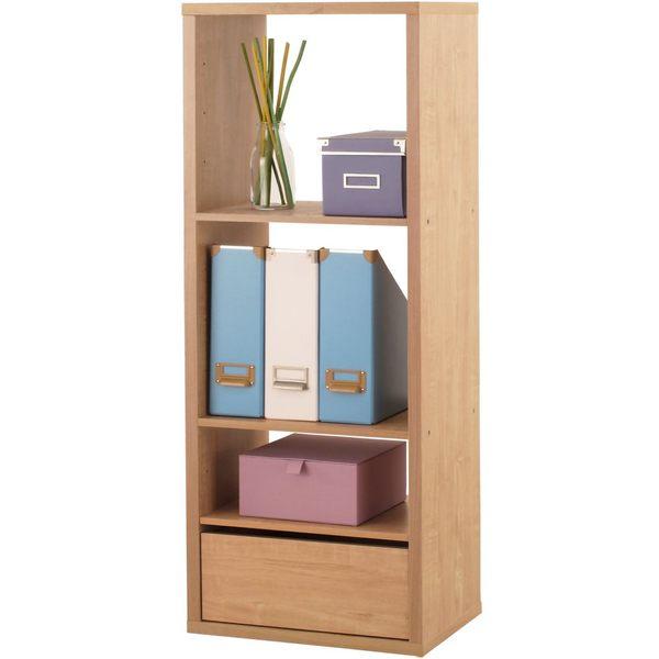 [ 家事達 ] SA-2123《布拉格》三格加厚收納櫃 附抽屜&活動板 特價 空櫃 書櫃 書架