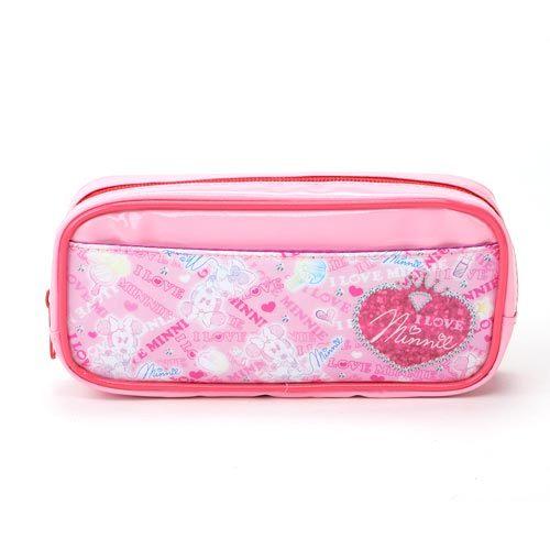 ★funbox生活用品★《sun-star》迪士尼我愛米妮系列PVC防水筆袋_UA87826