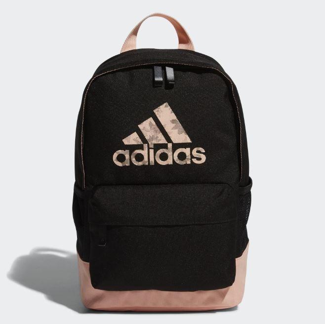Adidas 黑粉專業運動訓練後背包-NO.EE1081