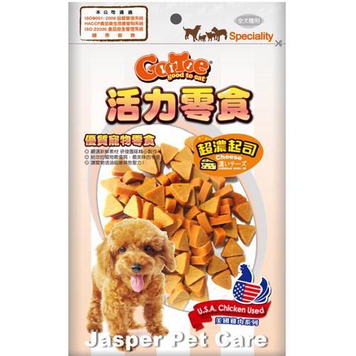 【寵物王國】活力-CR61起司雞肉三角切片200g