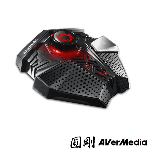 圓剛神盾抗噪麥克風 GM310 為遊戲溝通而生!!! 能有效抑制電腦喇叭回音干擾
