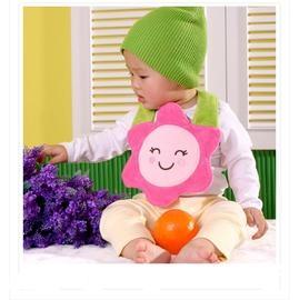口水巾毛巾料造型圍兜兜CA5001好娃娃