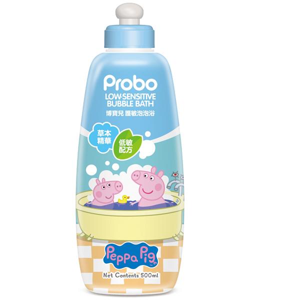快潔適博寶兒 護敏泡泡浴500ML-佩佩豬