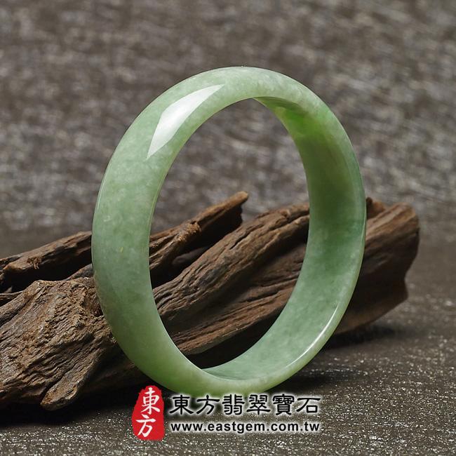 豆種手鐲豆種玉鐲豆種翡翠手鐲淺綠色玉鐲手鐲些微透光圓鐲19 BE013