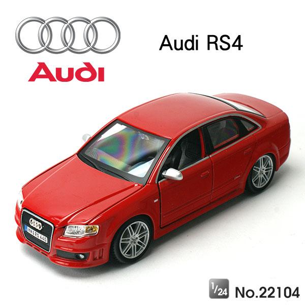 Amuzinc酷比樂 原廠授權合金車 1/24 奧迪Audi RS4