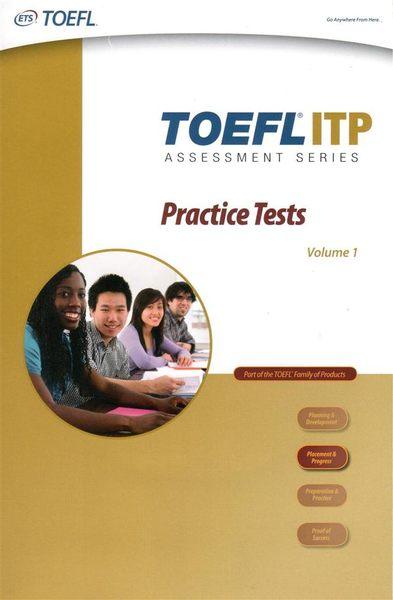 TOEFL ITP Practice Tests, Volume 1