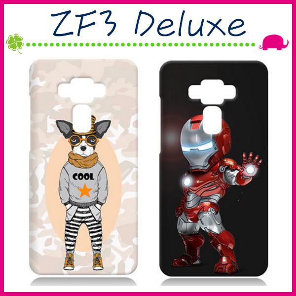 Asus Zenfone3 Deluxe ZS570KL 5.7吋韓國彩繪手機殼水草人系列保護套浮雕背蓋卡通手機套清新保護殼