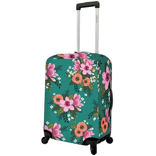 《DQ》20吋行李箱套(花漾綠)