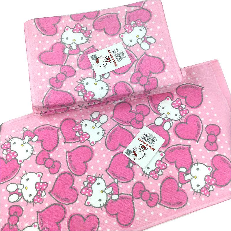 Hello Kitty 凱蒂貓結緣童巾-KT15285-台灣製造-正版授權