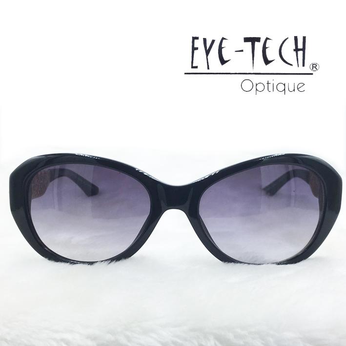 橘子樹眼鏡Eye Tech腳架鏤空花紋太陽眼鏡獨家限量ET3267黑色抗UV太陽眼鏡日本製