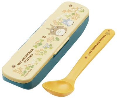 SKATER宮崎駿龍貓豆豆龍湯匙餐具盒355356通販屋