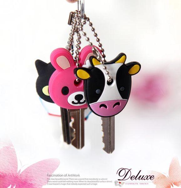 ☆Deluxe☆時尚輕巧~可愛卡通造型鑰匙頭套~共18種款式~趕快來收集!(一組2個)