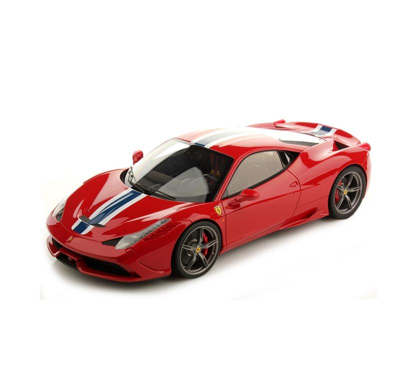 限時68折《 Bburago 》1/18-法拉利平裝版 458 SPECIALE 跑車 模型車 ╭★ JOYBUS玩具百貨